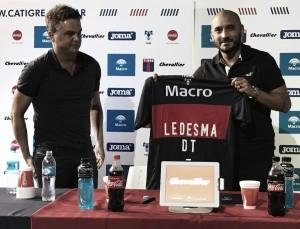 Ledesma fue presentado en conferencia de prensa