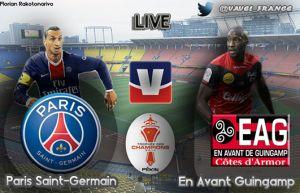 Live Trophée des Champions : Paris Saint-Germain - Guingamp en direct