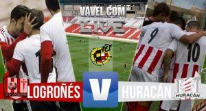 Resultado UD Logroñés - Huracán playoffs de Segunda B 2015 (1-1)