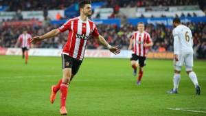 Shane Long fa sognare il So'ton, 1-0 con lo Swansea