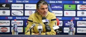 """Cagliari, Lopez in conferenza stampa: """"Vogliamo i tre punti"""""""