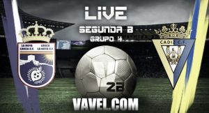 Resultado La Hoya Lorca - Cádiz en Segunda B 2015 (1-0)