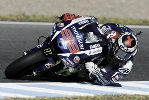 Jorge Lorenzo gana la batalla estratégica en Jerez