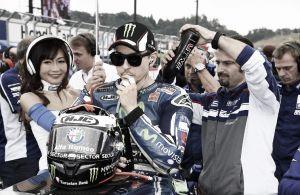 """Jorge Lorenzo: """"Estamos contentos de que Marc haya ganado el título"""""""