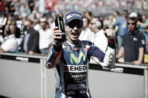 """Jorge Lorenzo: """"No esperaba subir al podio"""""""