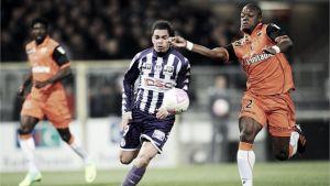 Guerreiro guía al Lorient a salir de los puestos de descenso