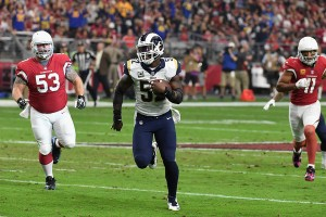 Los Angeles Rams' secure first winning season with win over the Arizona Cardinals