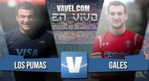 Resumen partido Los Pumas vs Gales (20-24)