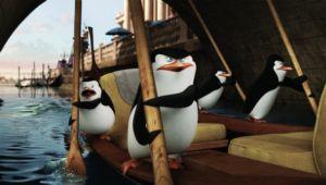 'Los pingüinos de Madagascar' hacen de las suyas en las primeras imágenes de su spin-off