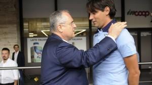 """Lazio, Lotito verso la Supercoppa: """"Determinati, uniti e volitivi per una grande prestazione"""""""
