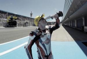 Britain's Sam Lowes wins Moto2 race in Jerez
