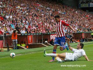 Puntuaciones del Sporting de Gijón, vuelta de la primera ronda del playoff de ascenso a Primera División