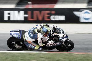 Carmelo Morales se hace con la pole de SBK en el Circuito de Navarra