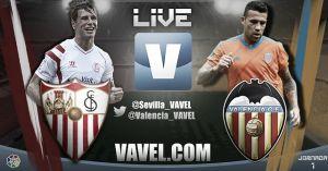 Sevilla vs Valencia en vivo y en directo online