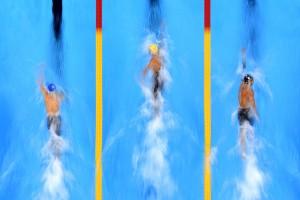 Budapest 2017 - Nuoto, batterie 50 sl maschili, Luca Dotto in semifinale