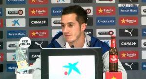 """Lucas Vázquez: """"Queremos realizar un buen partido delante de nuestra gente"""""""