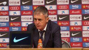 """Lucas Alcaraz: """"Merecimos un mejor resultado, aunque el Barcelona mereció ganar"""""""
