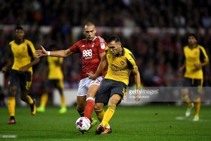 Gunners legend praises Lucas Perez after EFL Cup performance