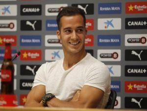 """Lucas Vázquez: """"Tengo ganas de jugar allí y volver con los tres puntos"""""""