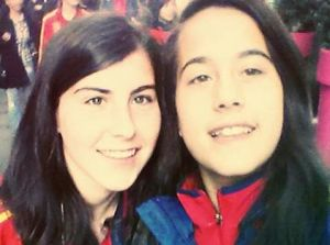 Lucía García y Nuria Rábano, conexión astur-gallega para guiar a la sub 16