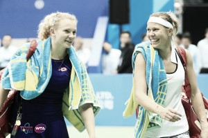 Lucie Hradecka and Katerina Siniakova withdraws from the WTA Finals