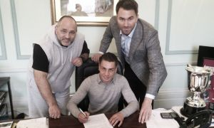 Lucien Reid signs professional deal ahead of May 30 debut