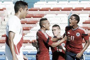 Primera victoria de Colombia en el hexagonal final