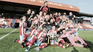 El filial rojiblanco se proclama campeón una jornada después de certificar el ascenso