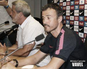 """Luis Enrique: """"Este resultado refuerza mucho al equipo"""""""