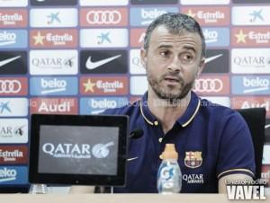 """Luis Enrique: """"Me espero un Villareal al que va a ser complicado quitarle el balón"""""""