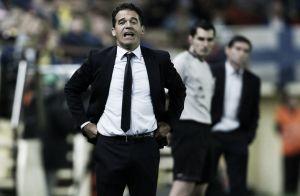 """Luis García: """"Hoy nos superaron, pero  hemos tenido la suerte de acertar en los momentos claves"""""""