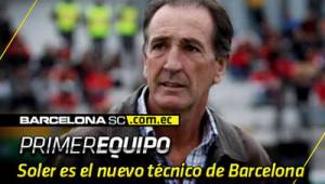 OFICIAL: Luis Soler es el nuevo técnico de Barcelona Sporting Club