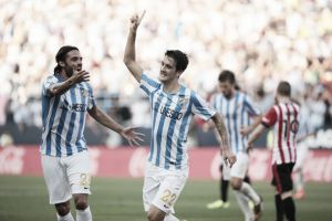 "Luis Alberto has a ""promising future"" according to Malaga manager"