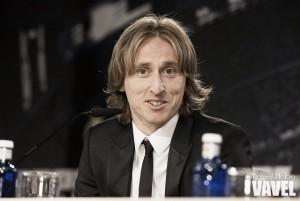"""Luka Modric: """"Mi idea es retirarme en el Real Madrid, sabía que iba a triunfar aquí"""""""