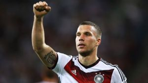 Podolski's agent: No move as of yet