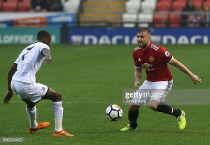 "Luke Shaw claims he's ""feeling good"" after comeback from injury for Man Utd U23s"
