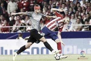 El Málaga CF naufraga en el estreno del Wanda Metropolitano ante el Atlético de Madrid