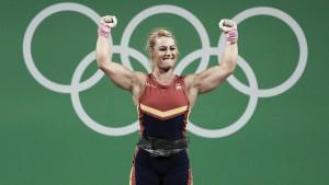 Lydia Valentín, oro olímpico en Londres 2012