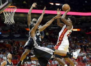 Pau Gasol, Kawhi Leonard, and Patty Mills lead LeMarcus Aldrige-less San Antonio Spurs over Miami Heat, 106-99