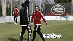 Primeros minutos de Marcelo Díaz con el Celta