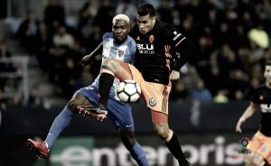 Málaga - Valencia, puntuaciones de la jornada 24 de LaLiga