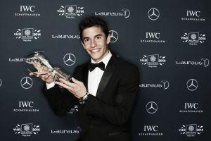 Marc Márquez se lleva el premio Laureus a mejor deportista revelación