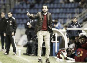 """Pablo Machín: """"En cualquier otra temporada seríamos líderes"""""""