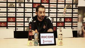 """Pablo Machín: """"Estamos a tres puntos menos del primer objetivo"""""""