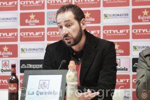 """Pablo Machín: """"Ha sido un partido con mucha intenisidad"""""""