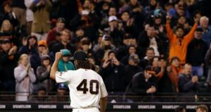Madison Bumgarner Throws 7 Strong, SF Giants Defeat San Diego Padres 2-0