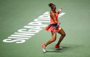 WTA Finals Singapore, Gruppo rosso: Keys travolge Cibulkova e si rimette in gioco