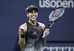US Open: Madison Keys produces serving masterclass to seal all-American semifinals