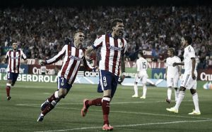 Atletico Madrid draw first blood in the battle of Madrid
