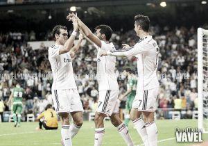 El Real Madrid también sabe golear sin '9'